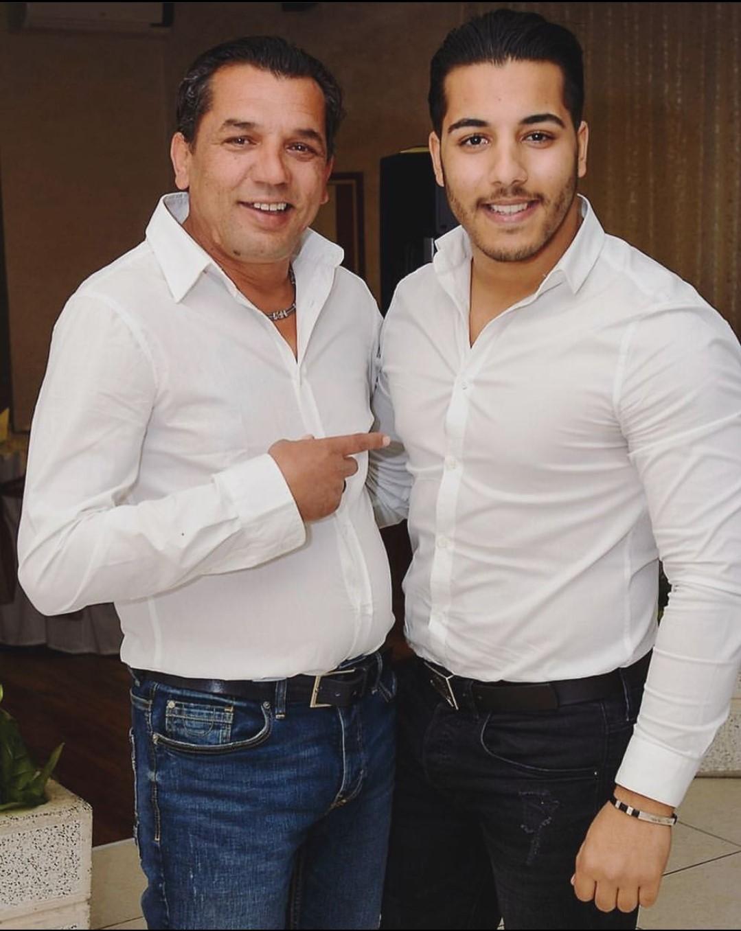 Aldin Avdijaj i njegov otac Fadil-Fado (Izvor: Instagram)