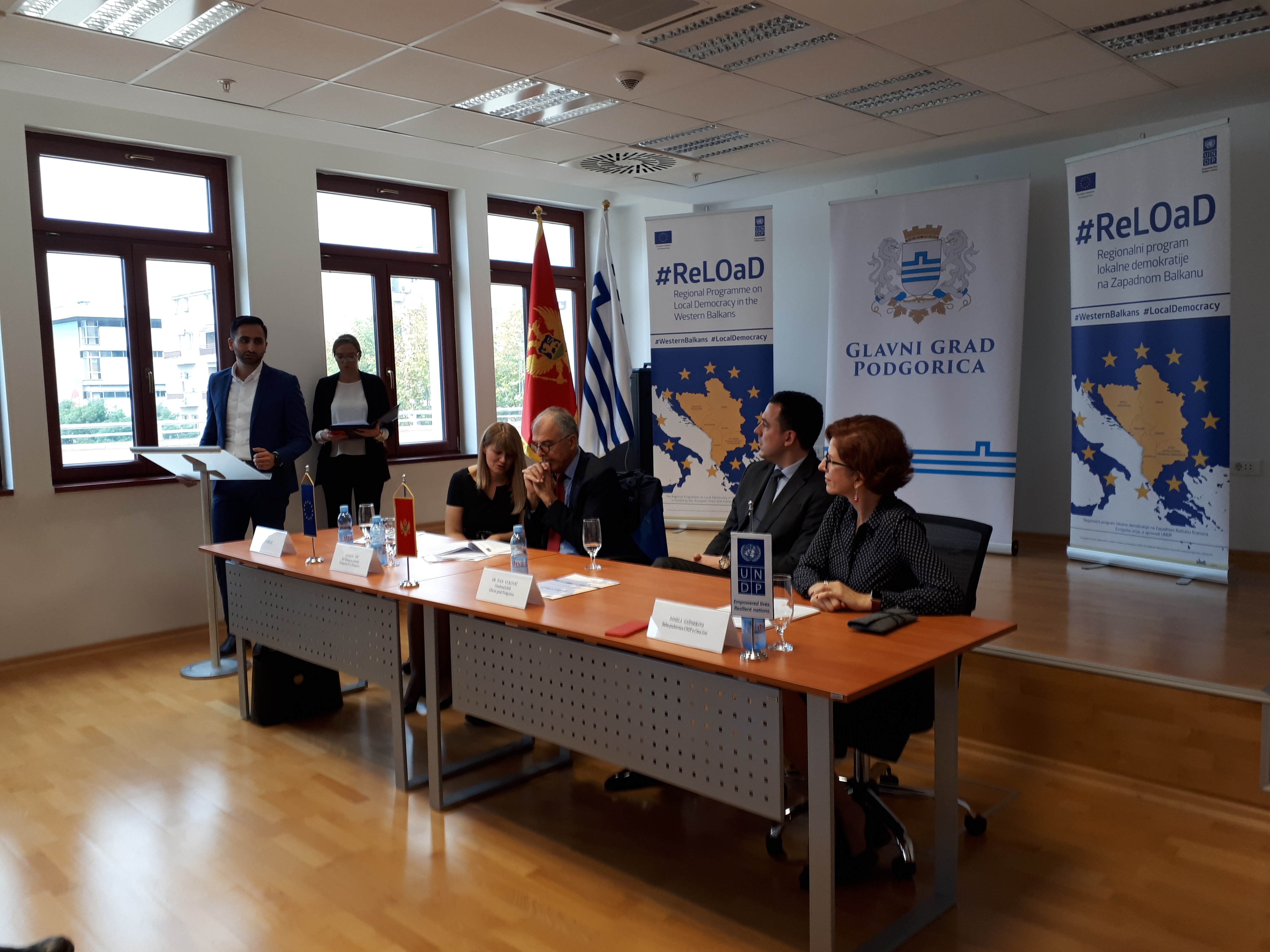 Sa predstavljanja projekta UROP (Foto: Violeta Hajrizaj)