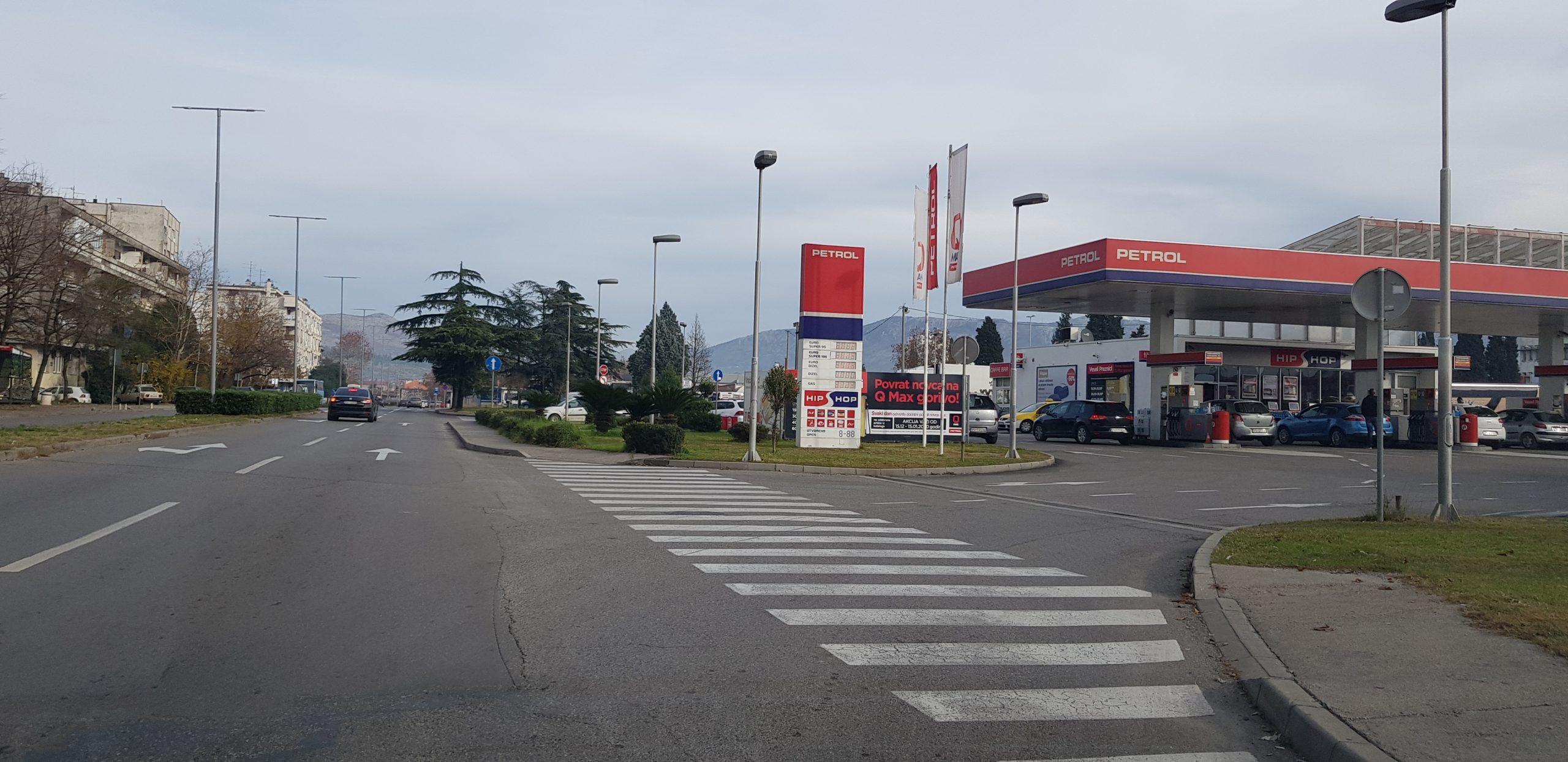 """Benzinska pumpa ,,PETROL"""" (Foto: Enis Eminović)"""