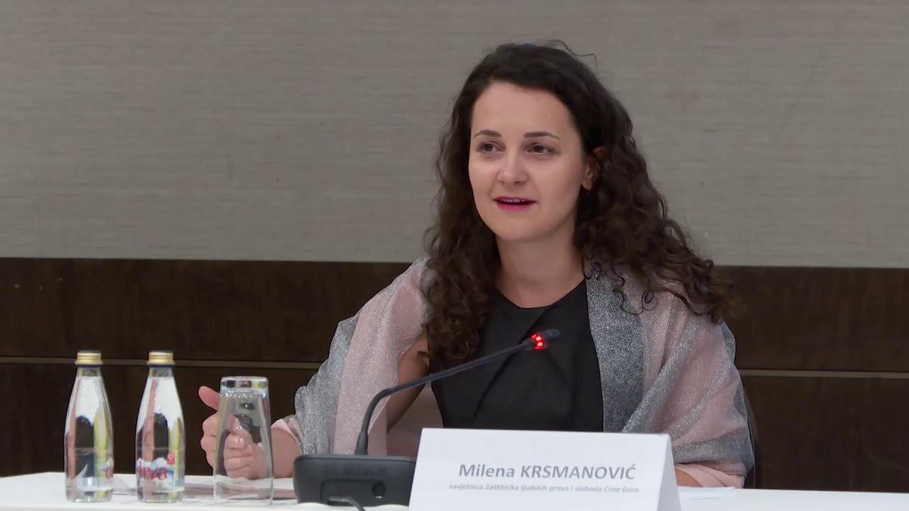Milena Krsmanović – savjetnica Zaštitnika ljudskih prava i sloboda Crne Gore (Izvor: internet)
