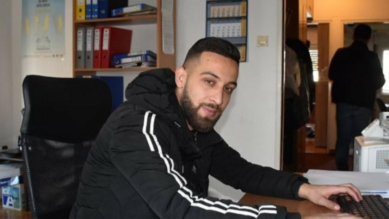 Dijamant Pajazitaj, saradnik u socijalnoj inkluziji Roma i Egipćana u oblasti socijalne zaštite. (foto:  Dijamant pajazitaj)