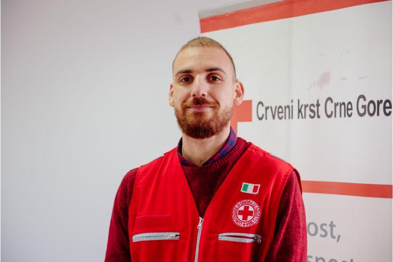 Delegat Italijanskog Crvenog krsta u Crnoj Gori Flavio Ciriaci (foto:PR Centar)