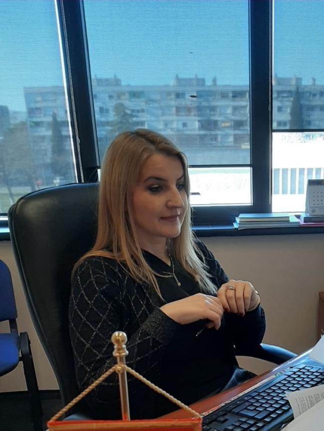 Nerma Dobardžić, zamjenica Zaštitnika ljudskih prava i sloboda (foto: Ombudsman)