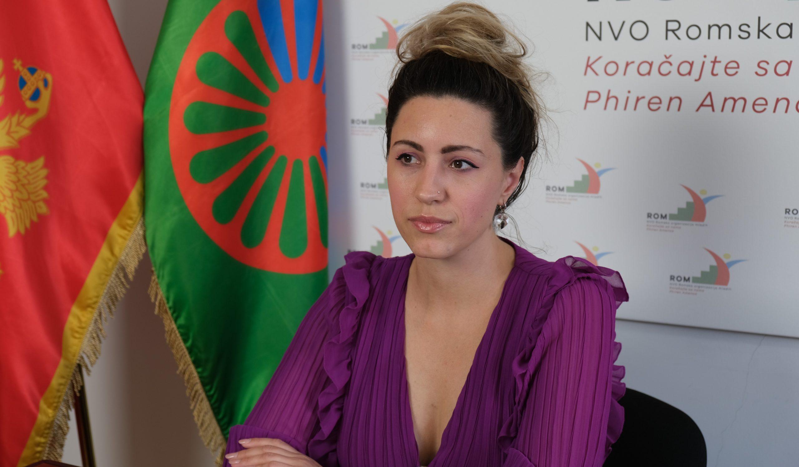 Preko 30% RE zajednice ostalo bez pomoći od strane države tokom pandemije, među kojima su isključivo lica bez regulisanog pravnog statusa, Nevenka Kapičić (Foto: RomaNet)